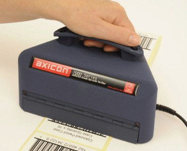 Axicon. Barcode verifiers / barcode checkers / ANSI and ISO grades. Axicon 7000 series - hand held verifier for logistics barcodes. Lowest price at barcode.co.uk