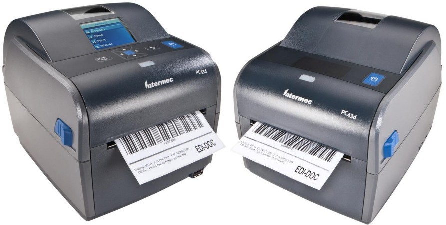 BARCODE CO UK - stock Intermec PC43d direct thermal barcode label