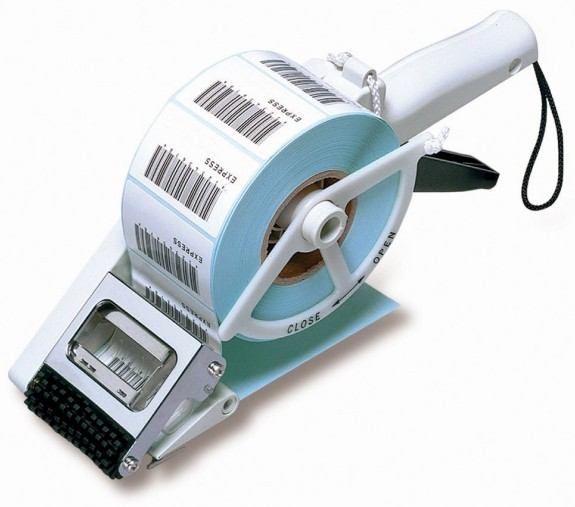 BARCODE CO UK - stock Zebra barcode labels applicator automatic peel