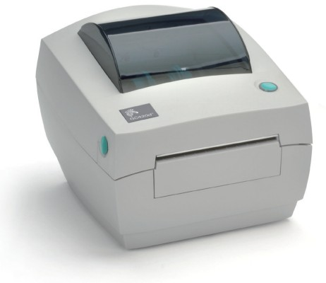 Zebra (Eltron). Desktop (medium duty) thermal label printers. Zebra GC420d direct thermal barcode label printer ZPL / EPL / ZBI languages, 8MB flash, 8MB ram, USB, Serial, Parallel. Options: Peel / Dispenser. Lowest price at barcode.co.uk
