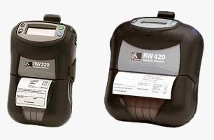 BARCODE CO UK - stock Zebra RW 420 / RW 220 (RW420 / RW220) 4 inch