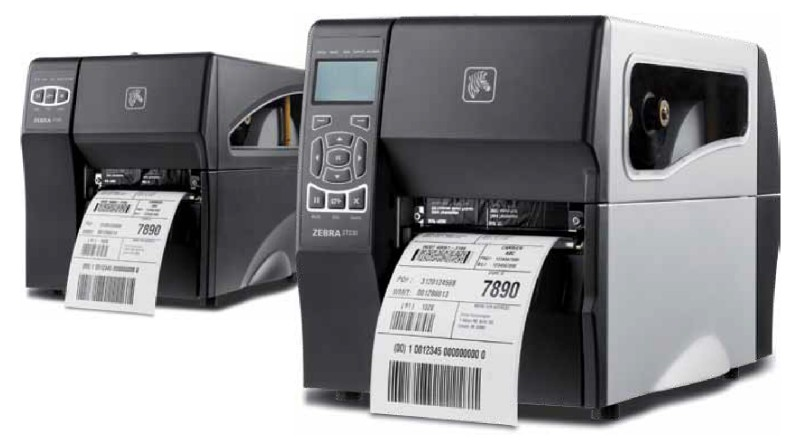 Zebra (Eltron). Midrange (workhorse) thermal label printers. Zebra ZT200 / ZT220 / ZT230 series industrial ZPL / XML direct thermal and thermal transfer barcode label printers. 128 MB flash (4 MB user) / 128 MB SDRAM (58 MB user). Lowest price at barcode.co.uk
